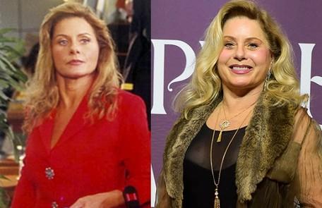 Vera Fischer interpretou Yvete, namorada de longa data de Leônidas (Reginaldo Faria). Recentemente, ela fez 'Espelho da vida' TV Globo