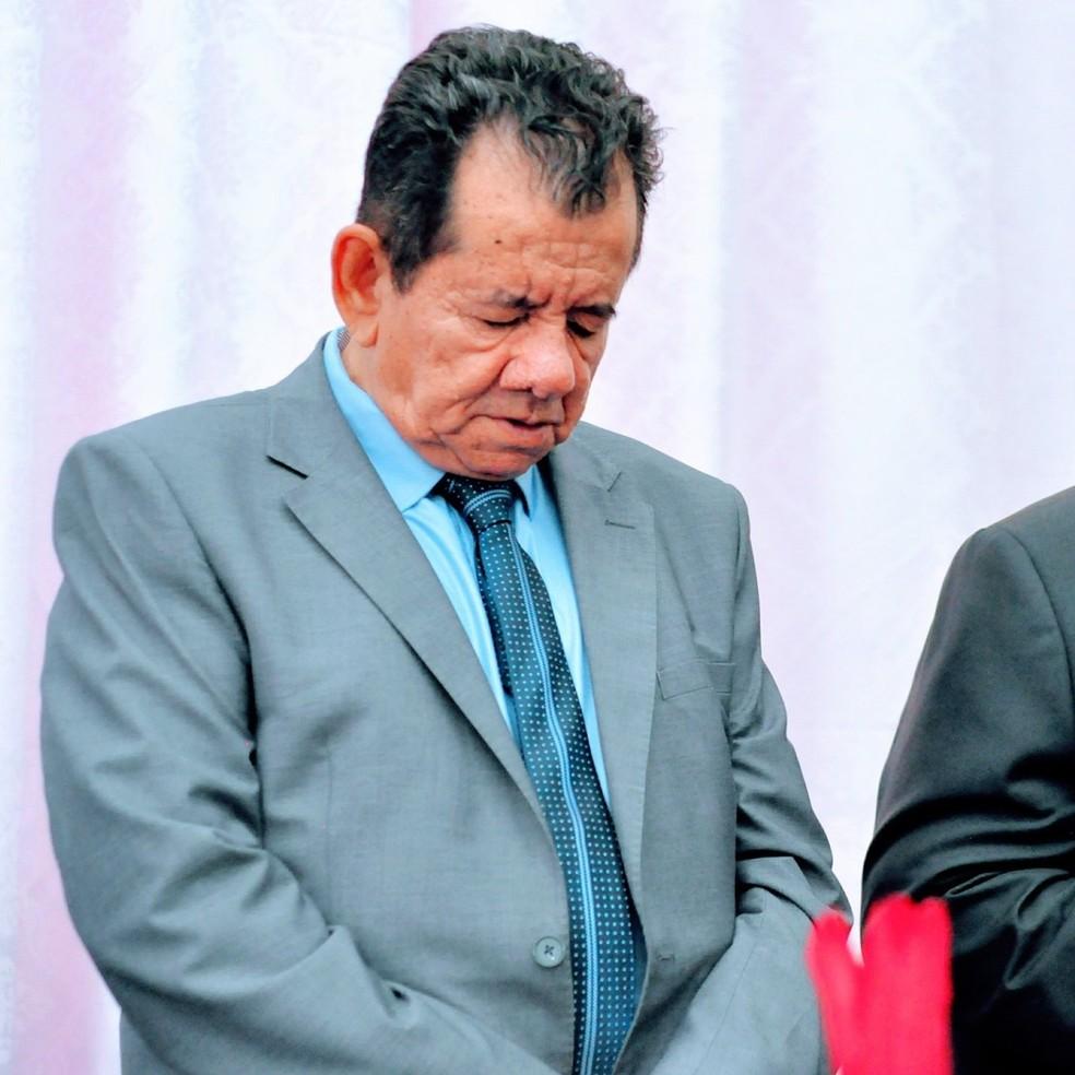 Pastor Nels dos Santos, de 75 anos — Foto: Assembleia de Deus/Divulgação