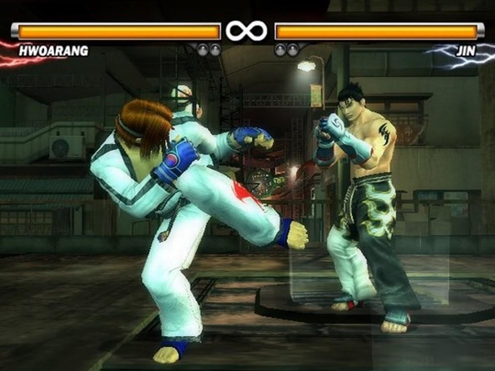 Dominar todos os golpes em Tekken 5 é tarefa para poucos — Foto: Divulgação/Bandai Namco