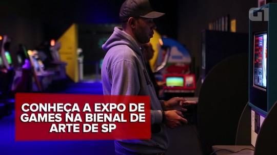 A Era dos Games: 'Videogames são arte', diz curador de exposição no Parque Ibirapuera