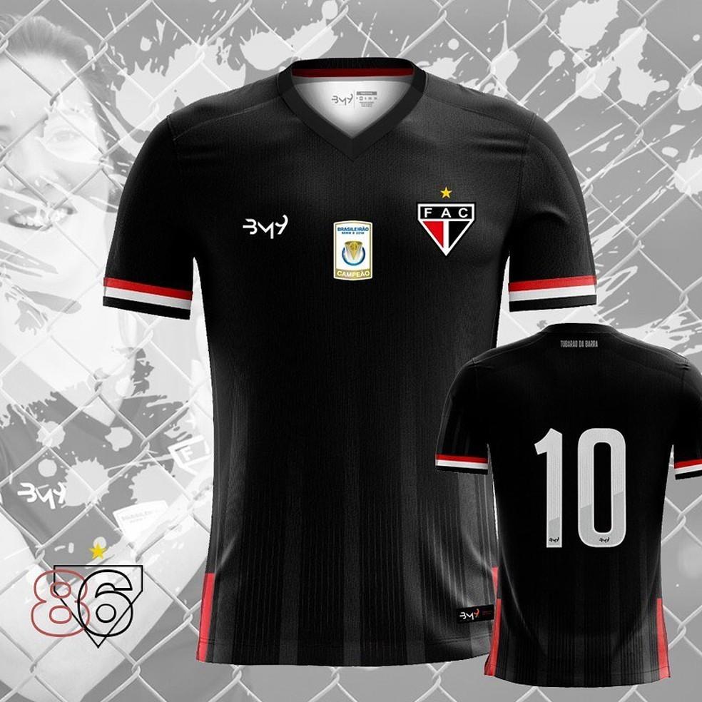 cb2cbfd450 ... Novo 3º uniforme do Ferroviário já está à venda nas lojas oficiais do  clube — Foto