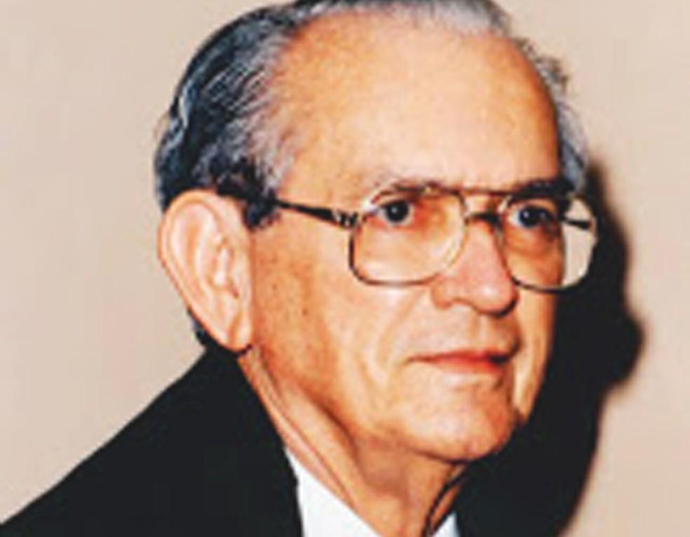 José Cândido morreu em Brasília, na quinta-feira — Foto: Reprodução/Academia de Letras de Ilhéus