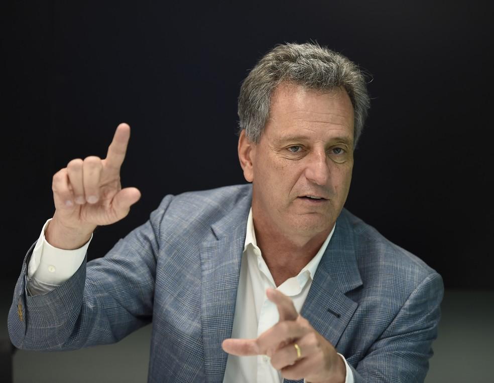 Empresário Rodolfo Landim, de 61 anos, é engenheiro de formação e fez carreira na Petrobras — Foto: André Durão / GloboEsporte.com