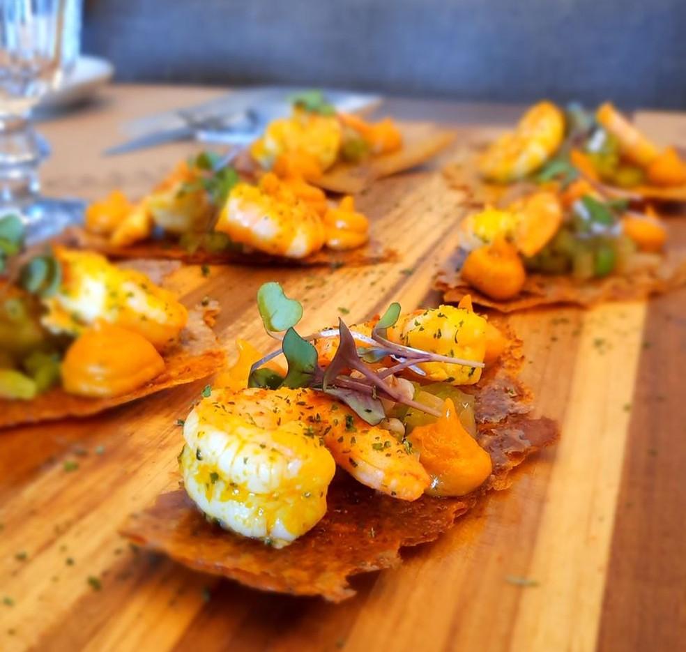 Crocante de acarajé  — Foto: Casa do Chef