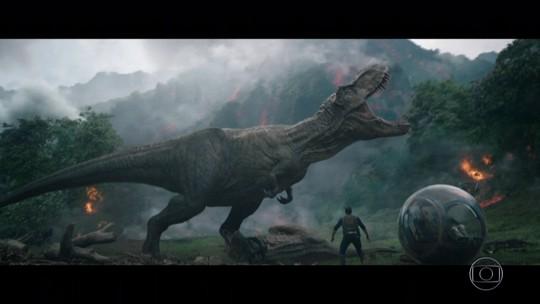 'Jurassic World: Reino Ameaçado' traz personagens de outros filmes