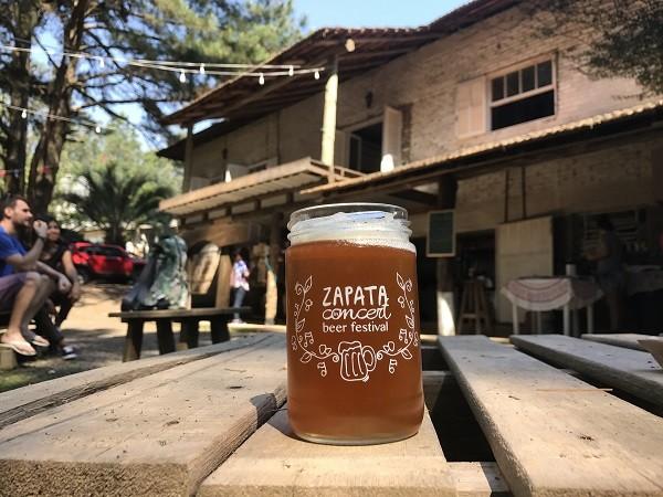 A cervejaria Zapata fica na zona rural de Viamão, no Rio Grande do Sul