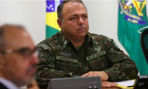 O general Eduardo Pazuello
