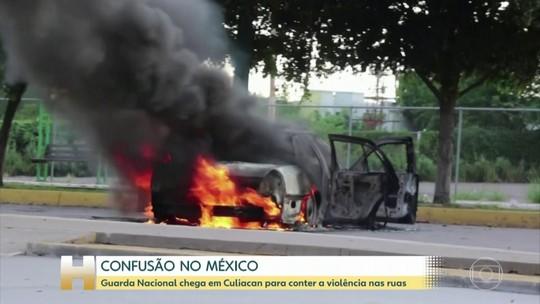 Onda de violência atinge o México após prisão de filho de El Chapo