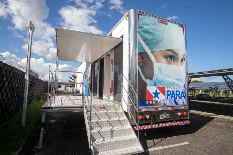 Policlínica itinerante começa a realizar atendimento no combate a covid-19 no interior do Pará