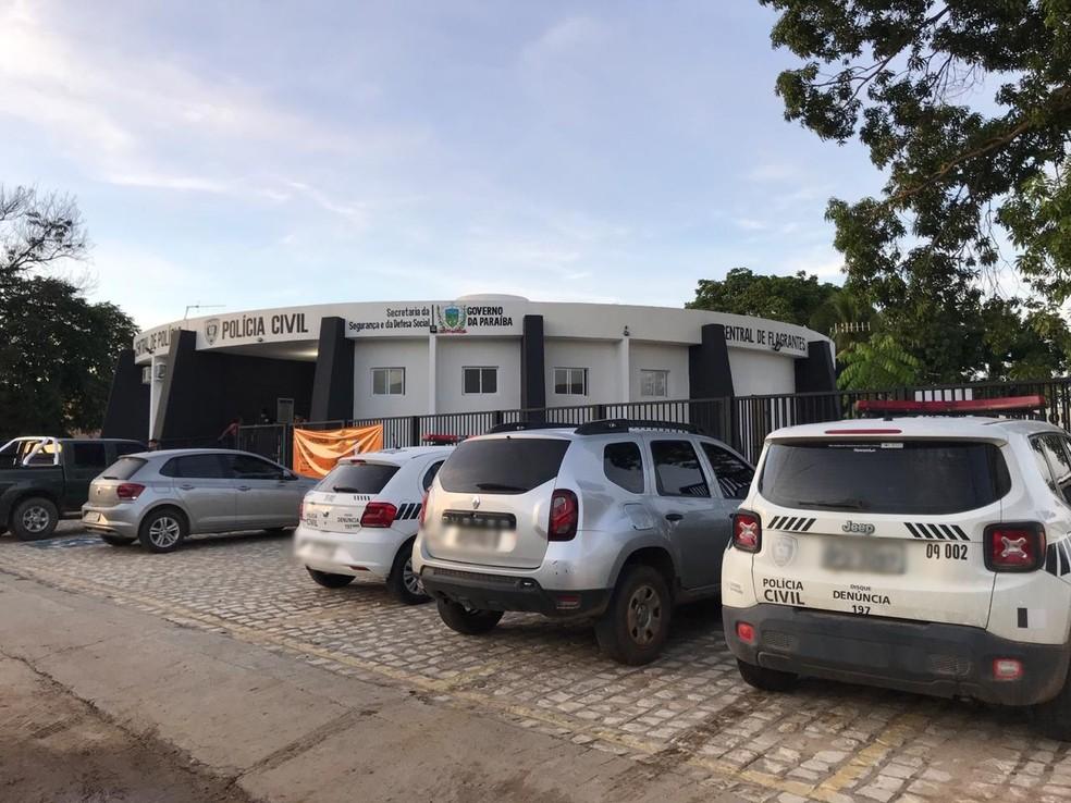 Delegacia Seccional de Cajazeiras, na Paraíba — Foto: Polícia Civil/Divulgação