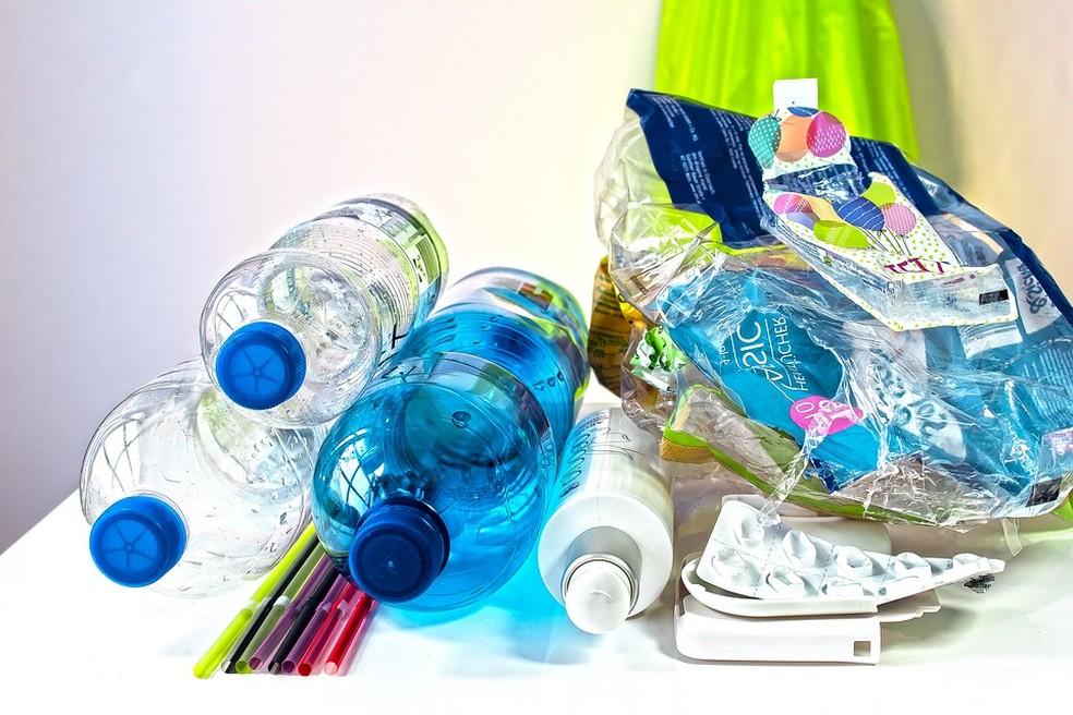 Brasil produz 11,3 milhões de toneladas de lixo plástico por ano — Foto: Pixabay/Divulgação