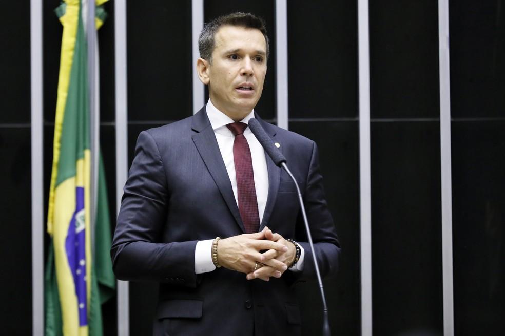 Deputado Felipe Carreras (PSB/PE) é o idealizador do projeto de socorro ao esporte que tramita no Congresso Nacional — Foto: Najara Araujo/Câmara dos Deputados