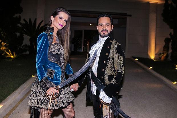 Luciano Camargo e Flávia Fonseca (Foto: Thiago Duran)