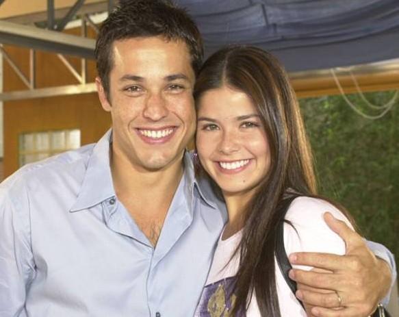 Roger Gobeth e Samara Felippo em 'Malhação' (Foto: TV Globo)