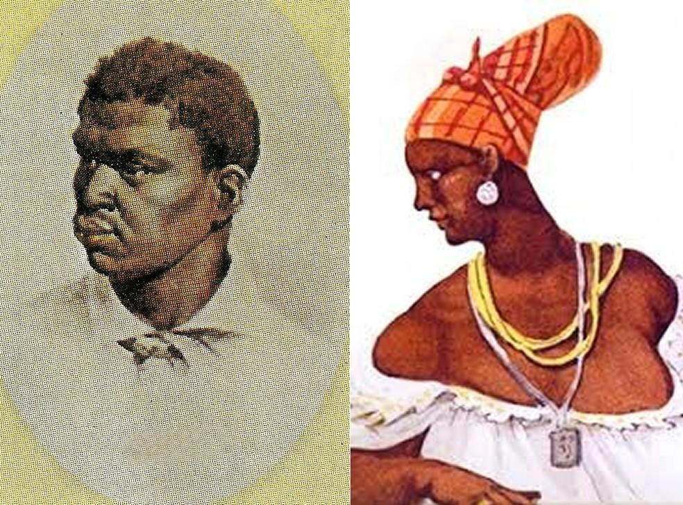 Manoel do Congo e Marianna Crioula — Foto: Divulgação