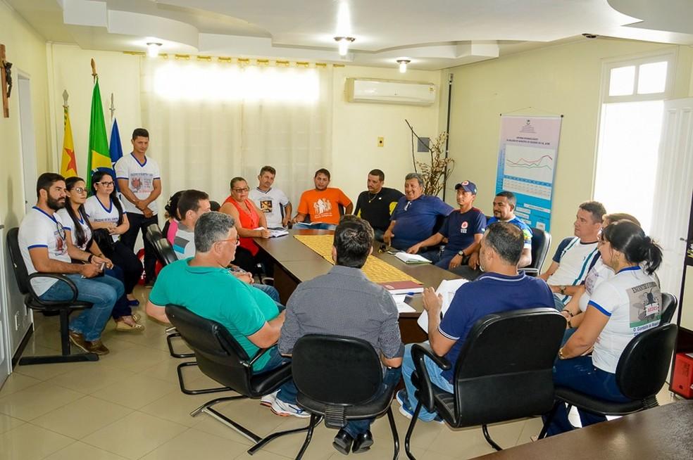 Primeiros casos de zika foram confirmados em coletiva nesta quinta-feira (8) em Cruzeiro do Sul (Foto: Divulgação/Prefeitura de Cruzeiro do Sul)