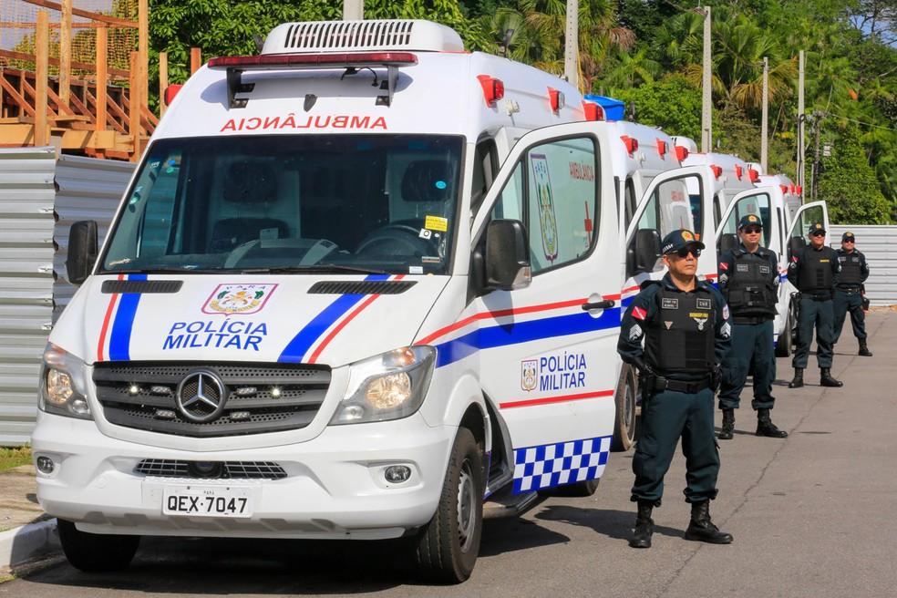 Polícia Militar do Pará — Foto: Marco Santos/Agência Pará