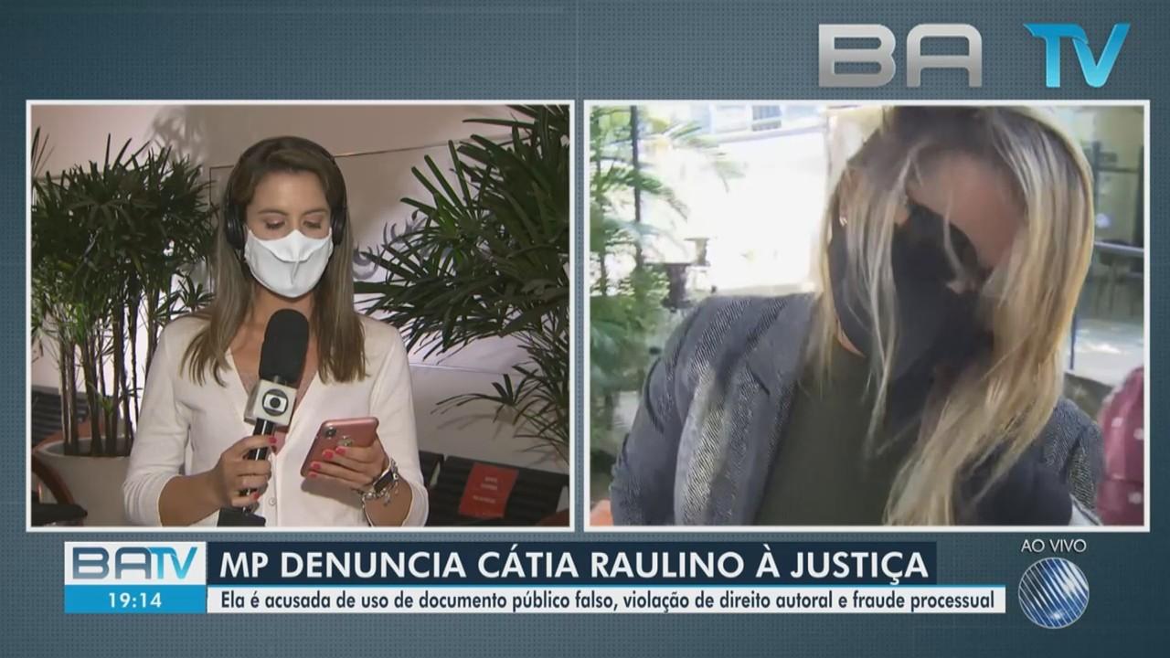 MP denuncia falsa jurista Cátia Raulino à Justiça por três crimes