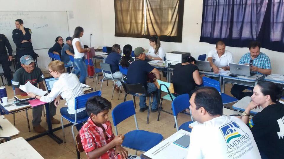 Triagem para atendimentos da Operação Justiça Rápida acontece em Vale do Anari e Machadinho, RO - Radio Evangelho Gospel