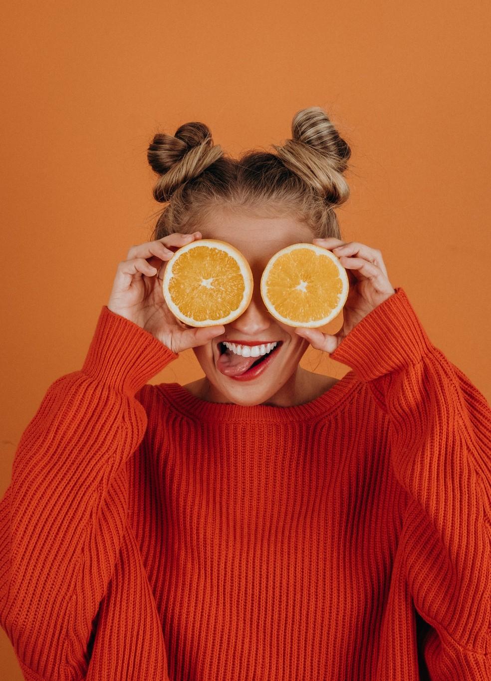 O laranja traz a coragem, a força e a determinação — Foto: Reprodução/Unsplash