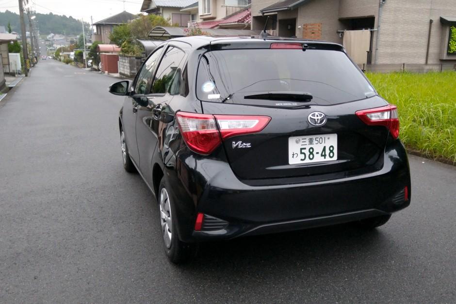 Toyota Vitz (Foto: Ulisses Cavalcante)