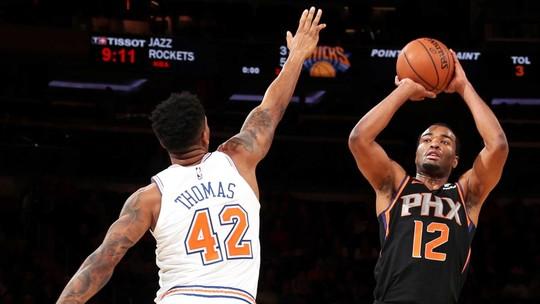 Melhores Momentos: Phoenix Suns 128 x 110 New York Knicks, pela NBA