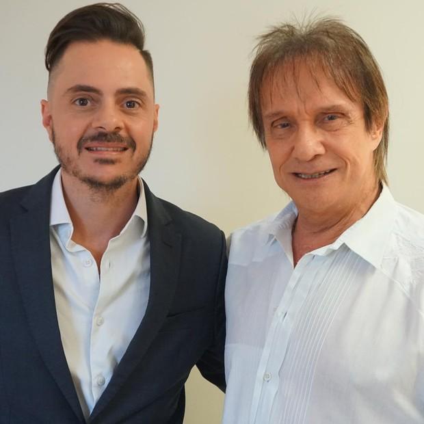 Dr Thiago Bianco e Roberto Carlos (Foto: Divulgação)