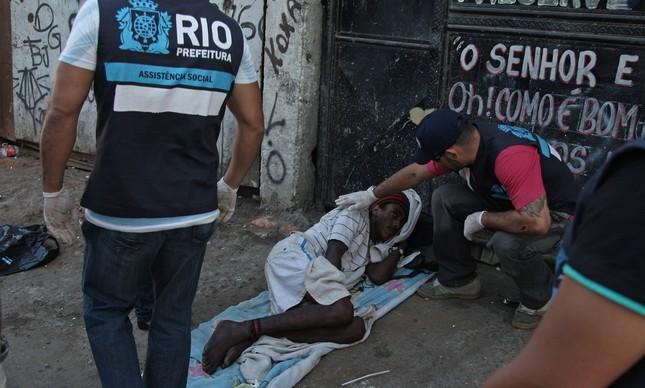 Em outubro de 2012, nova operação buscava acolher usuários de crack no Jacarezinho