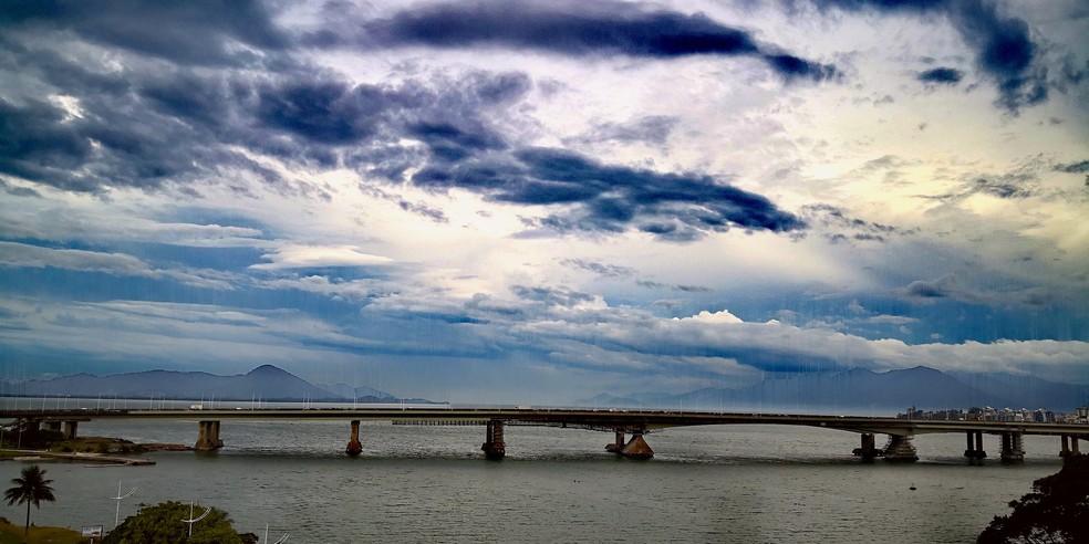 Previsão indica chuva no período da tarde para Florianópolis — Foto: Thomas Braga/ NSC TV