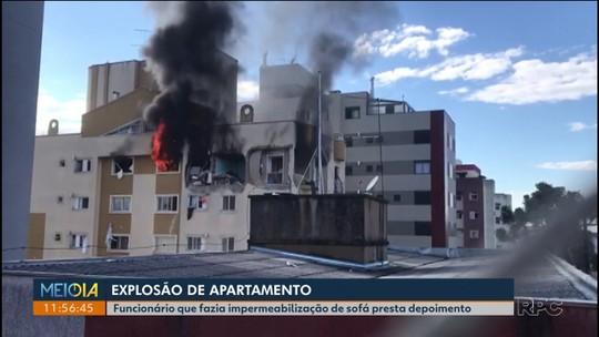 Explosão em apartamento: Funcionário ferido disse que avisou sobre os riscos que os produtos de impermeabilização ofereciam