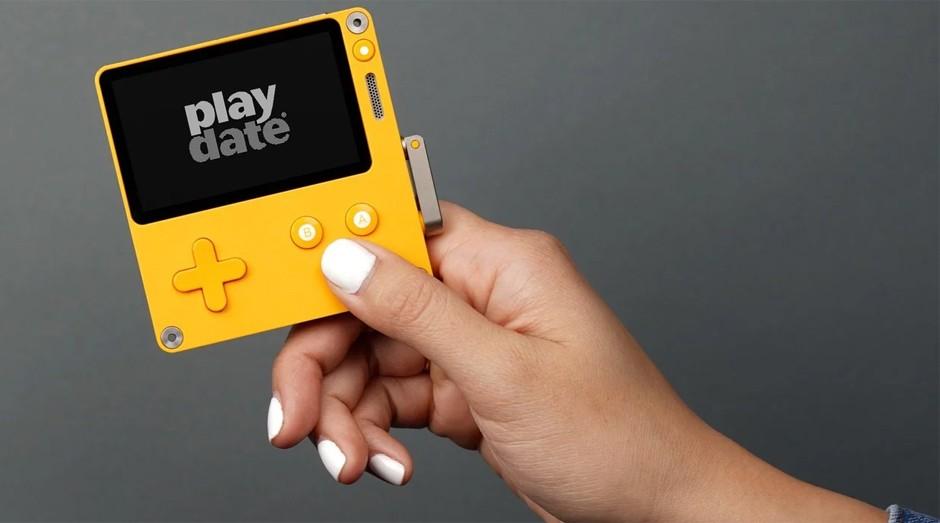 O Playdate, videogame lançado pela Panic (Foto: Divulgação)