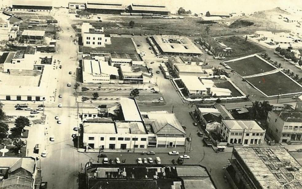 Centro histórico de Porto Velho com a Estrada de Ferro Madeira Mamoré e o Mercado Central (Foto: Anisio Gorayeb Filho/Divulgação)