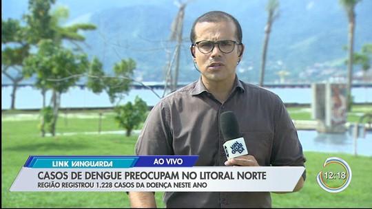 Litoral norte registra 1,2 mil casos de dengue neste ano