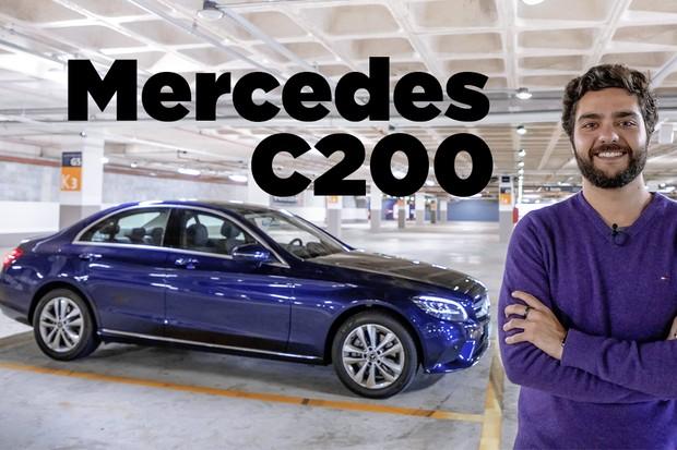 Vídeo: Mercedes Classe C EQ Boost (Foto: Marcos Camargo / Autoesporte)