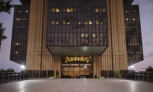 O prédio do Banco Central