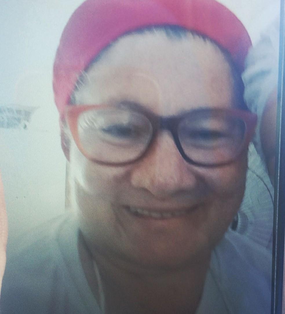 Maria Francineide Carlos, de 59 anos, morreu durante tentativa de assalto em Mossoró (Foto: Hugo Andrade/Inter TV Costa Branca)
