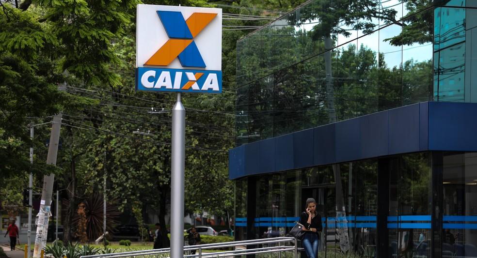 Caixa Econômica é o principal banco que financia a habitação no país (Foto: Marcelo Brandt/G1)