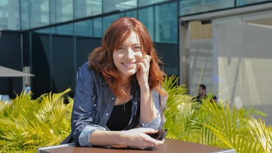 Bianca Müller mostra o cenário da família Leitão de 'A Lei do Amor'