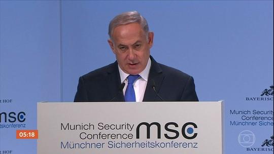 Tensão entre Israel e Irã aumenta durante a Conferência de Segurança de Munique