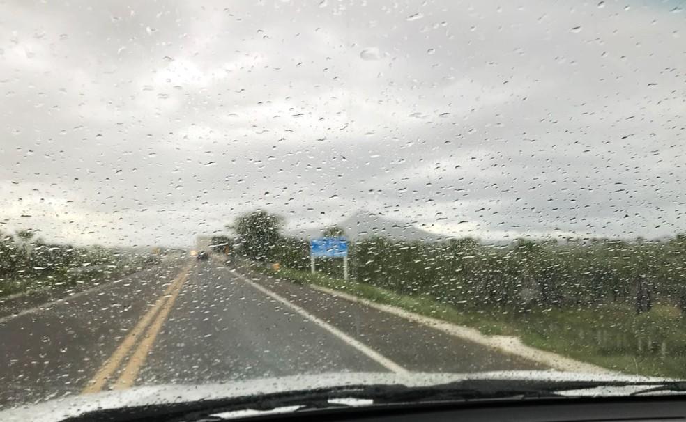 RN tem registrado chuvas acima da média este ano — Foto: Bruno Andrade