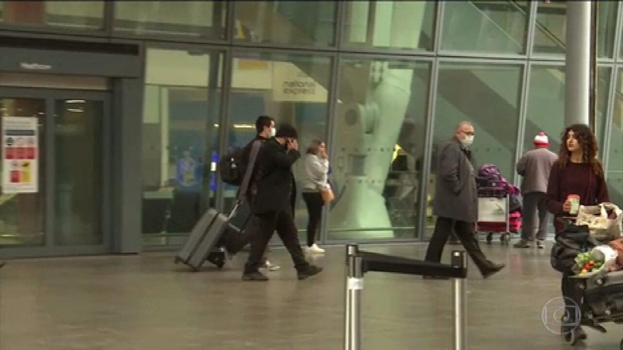 Reino Unido passa a exigir quarentena para cidadão que chegar de país de risco