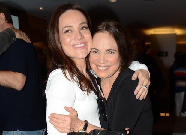 Gabriela Duarte e Regina Duarte (Foto: Eduardo Martins/AgNews)