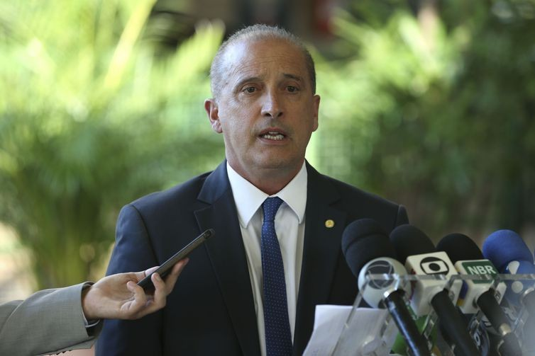 Onyx Lorenzoni, ministro da Casa Civil de Bolsonaro (Foto: Valter Campanato/Agência Brasil)