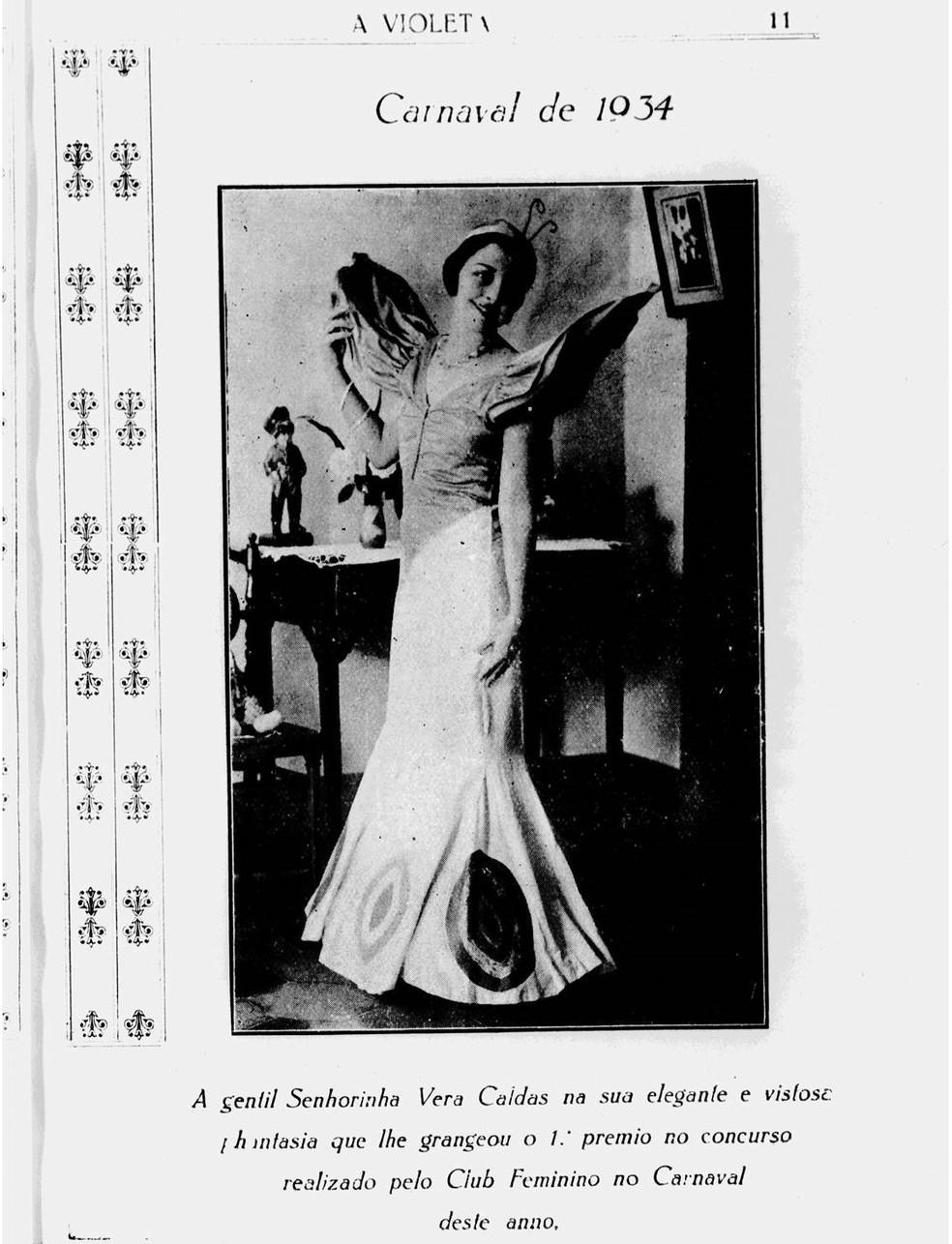 A Violeta, no Arquivo Público — Foto: Arquivo Público de MT