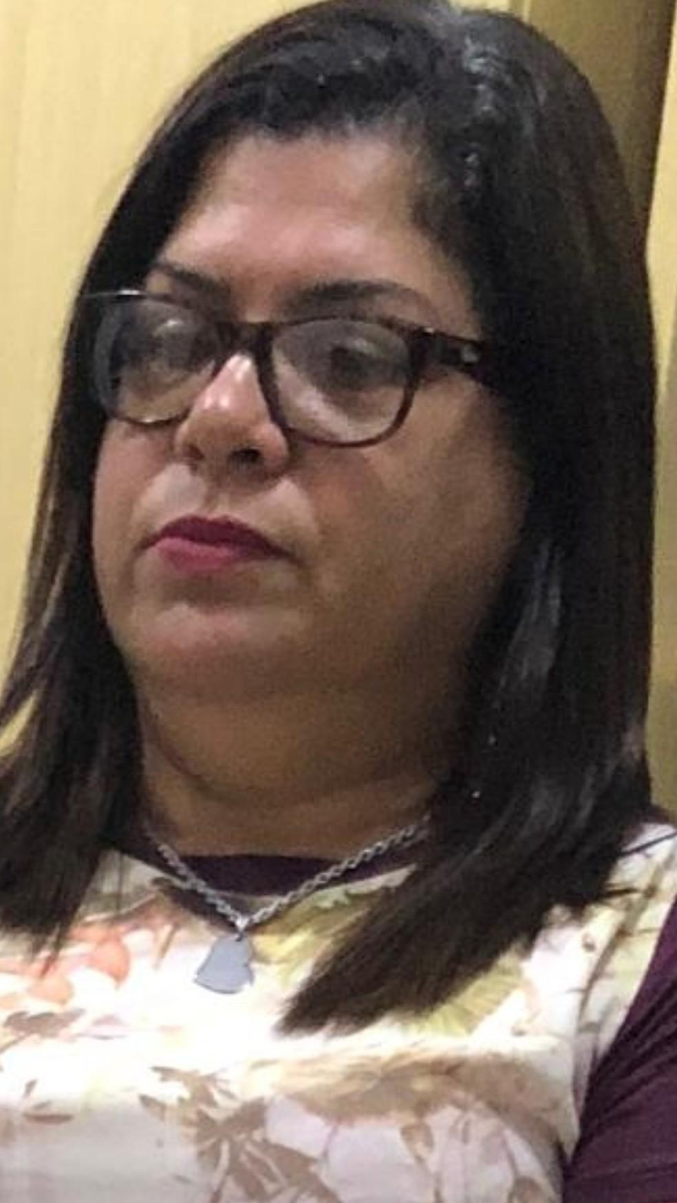 Sandra Helena é investigadora de polícia e foi presa no bairro Jardim América, em São Luís. — Foto: Divulgação/Polícia Civil