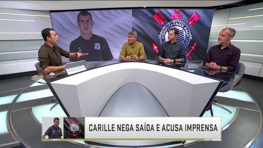 """Comentaristas debatem afirmação de Fábio Carille de que """"grande parte da imprensa mente"""""""