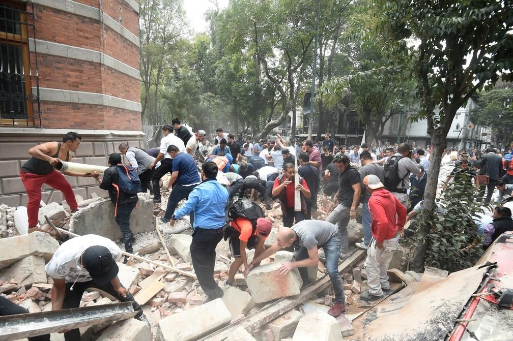 Resultado de imagem para terremoto no mexico