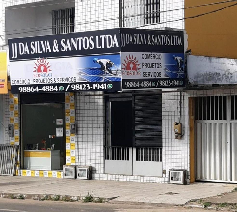 Empresa investigada pela PF que deveria entregar EPIs e respiradores para municípios maranhenses, mas nunca entregou — Foto: Divulgação/PF