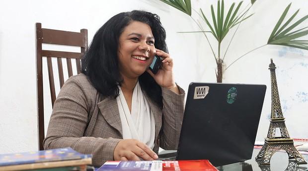 Sílvia Regina da Silva, da Intercâmbio Woman (Foto: Sebrae-SP)