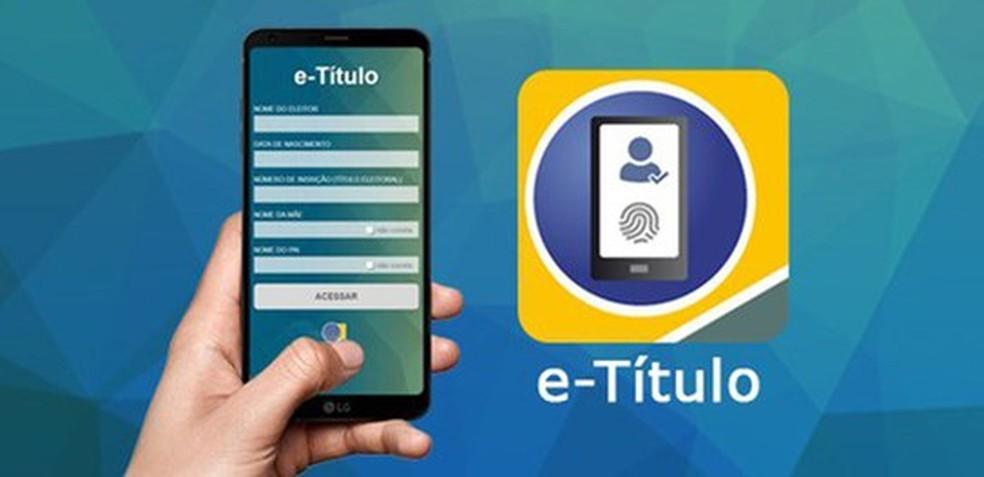 Imagem ilustrativa do e-Título, aplicativo da Justiça Eleitoral — Foto: Divulgação/TRE-BA